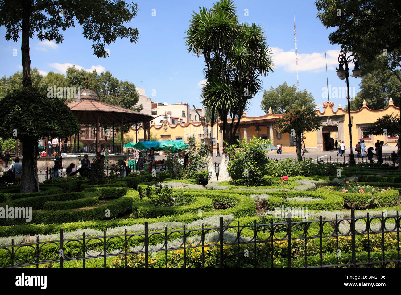 Plaza Hidalgo Coyoacan Mexico City Mexico Stock Photo 29560726