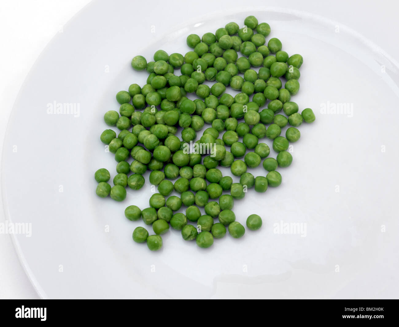 Peas On A Plate - Stock Image