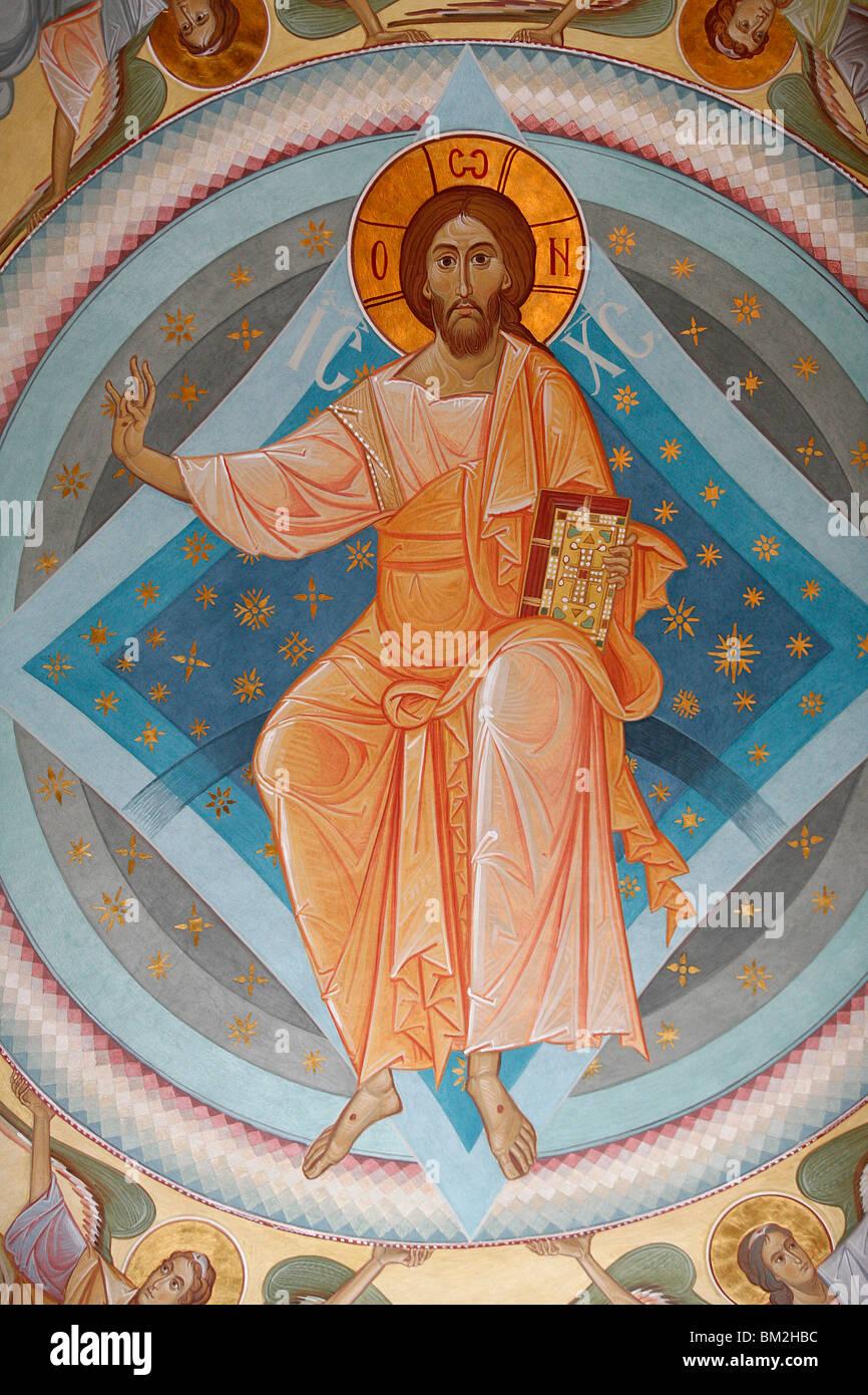 Christ in Glory, Vienna, Austria - Stock Image
