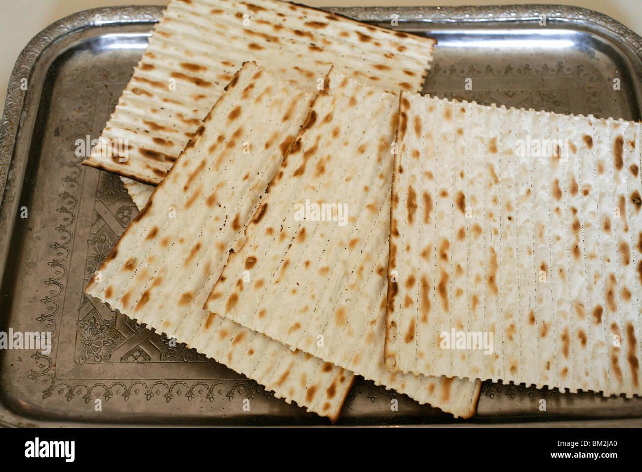Unleavened Bread Jewish Stock Photos & Unleavened Bread