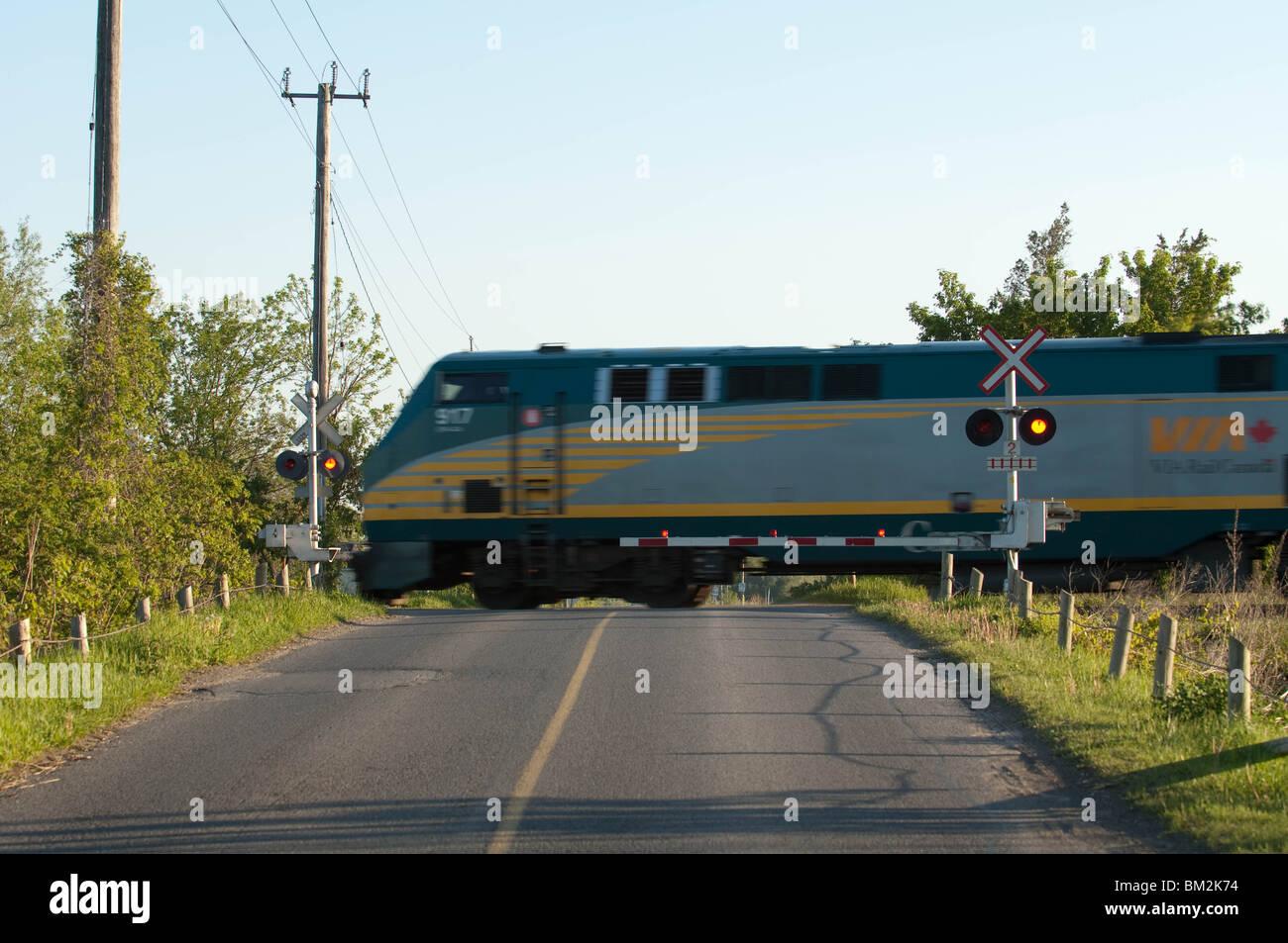 Via Rail Train Stock Photos Amp Via Rail Train Stock Images