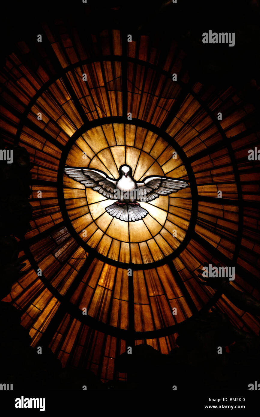 Holy Spirit Dove Stained Glass Stock Photos Amp Holy Spirit