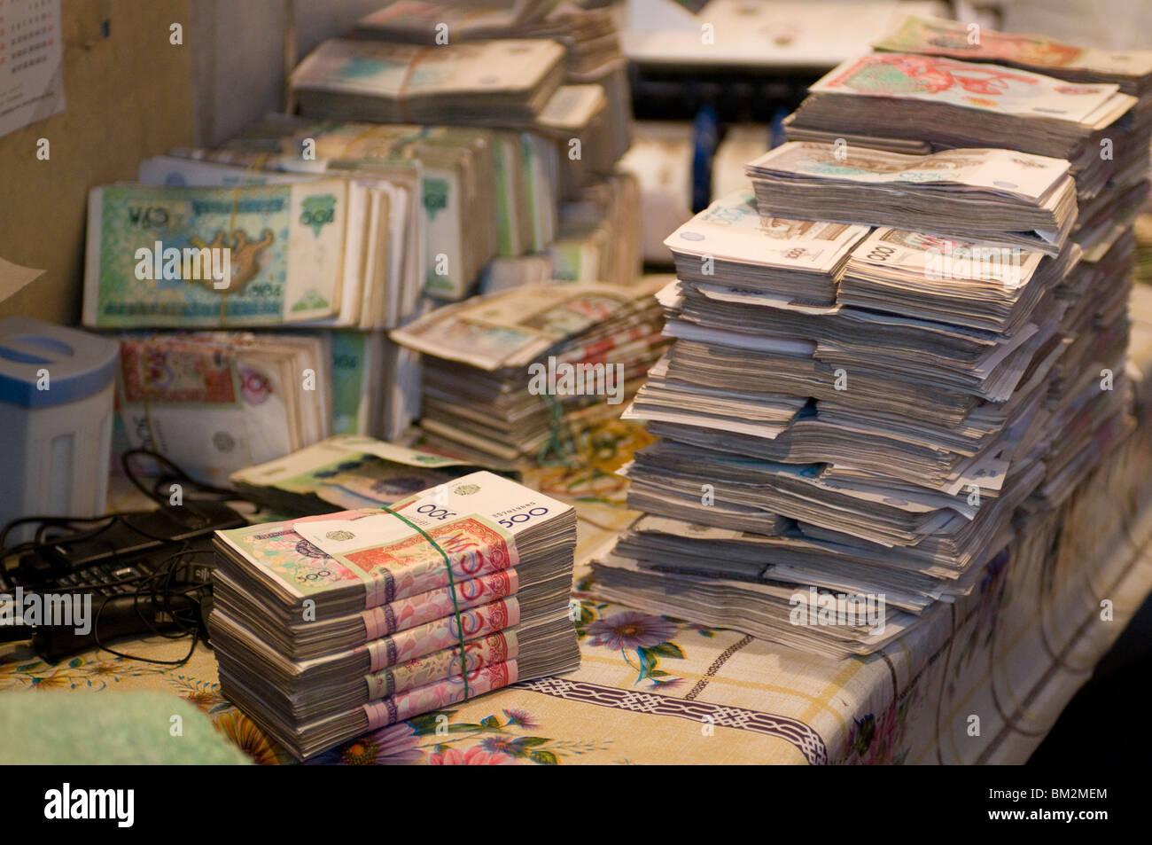 Kyrgysh bills, Osh, Kyrgyzstan - Stock Image