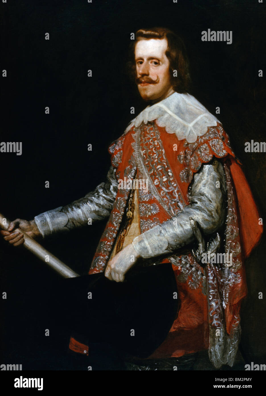 Philip IV by Diego Velazquez, (1599-1660) - Stock Image