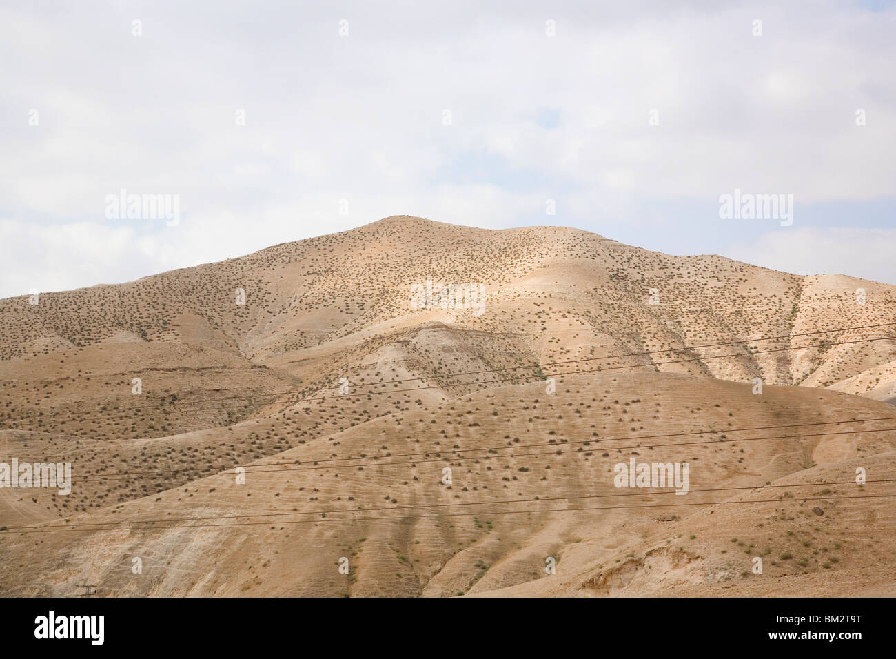 Valley Of Jericho - Israel - Stock Image