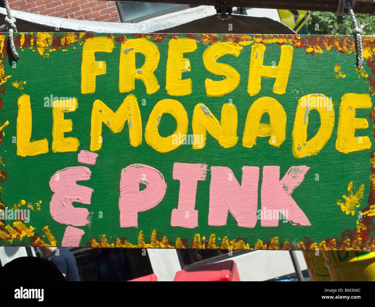 lemonade sign stock photos lemonade sign stock images alamy
