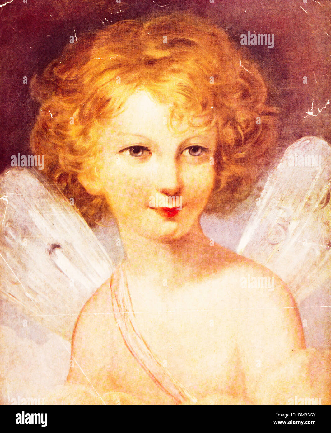 Fairy,  detail by Thomas Lawrence,  (1769-1830) - Stock Image