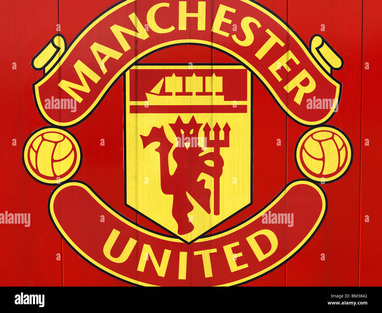 Man Utd Crest High Resolution Stock Photography And Images Alamy