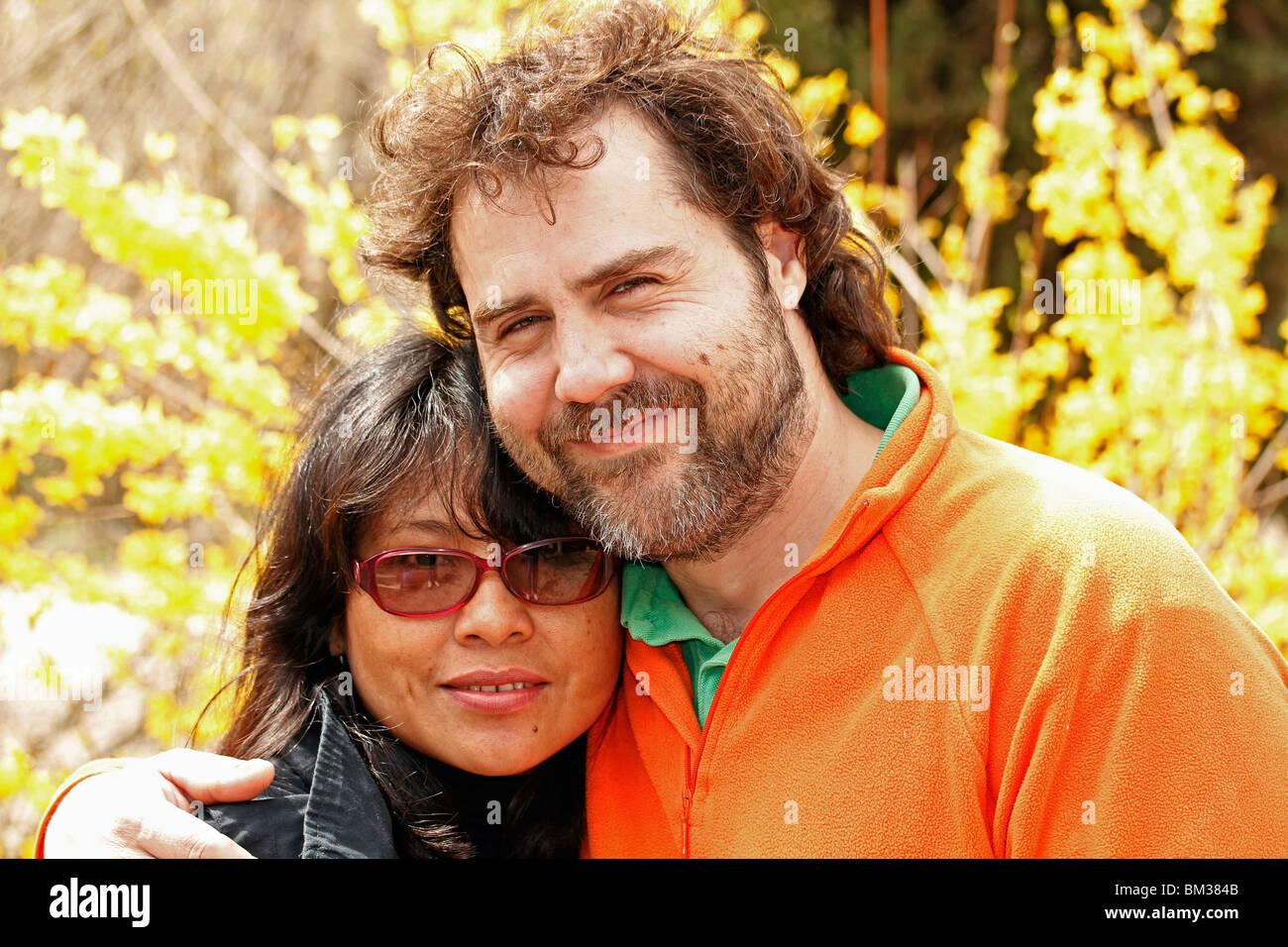 Ethnic couple. Stock Photo