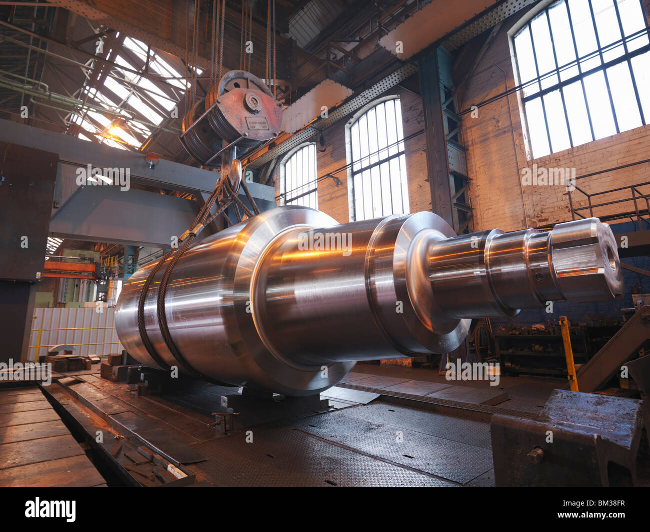Finished Steel Product - Stock Image