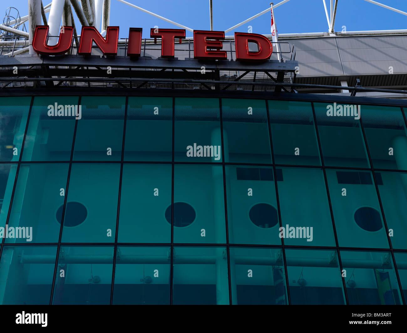 old trafford stadium - Stock Image