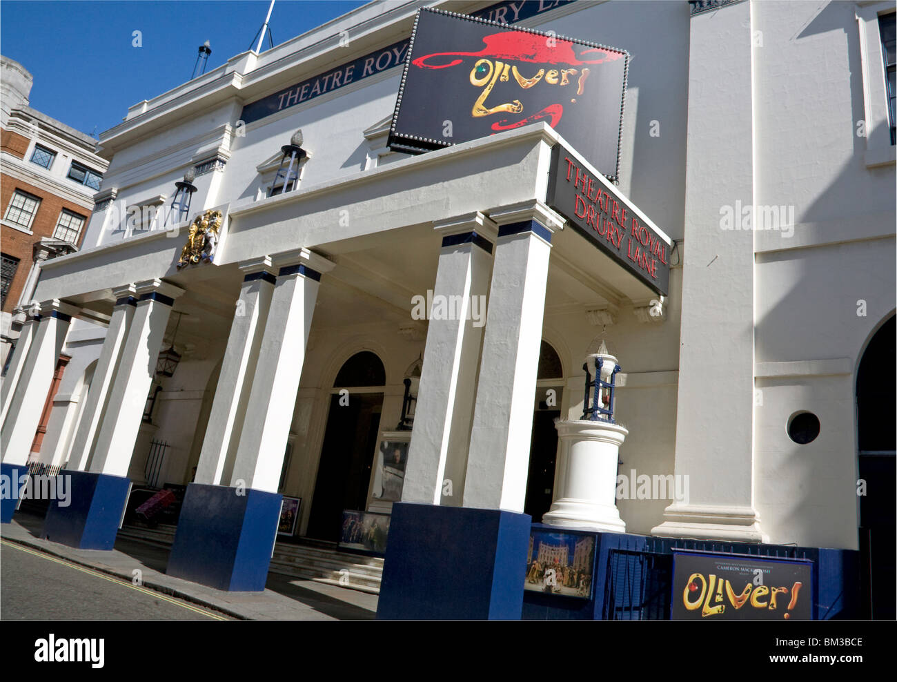 Theatre Royal Drury Lane, London - Stock Image