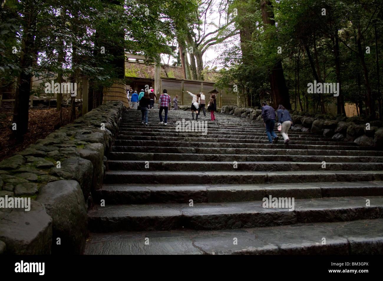 Ise Grand Shinto Shrine - Stock Image