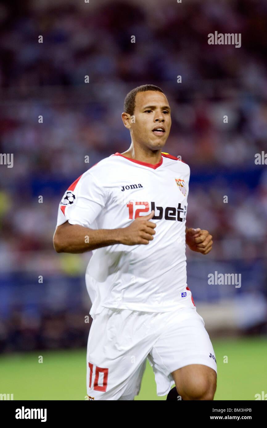 Luis Fabiano running. - Stock Image