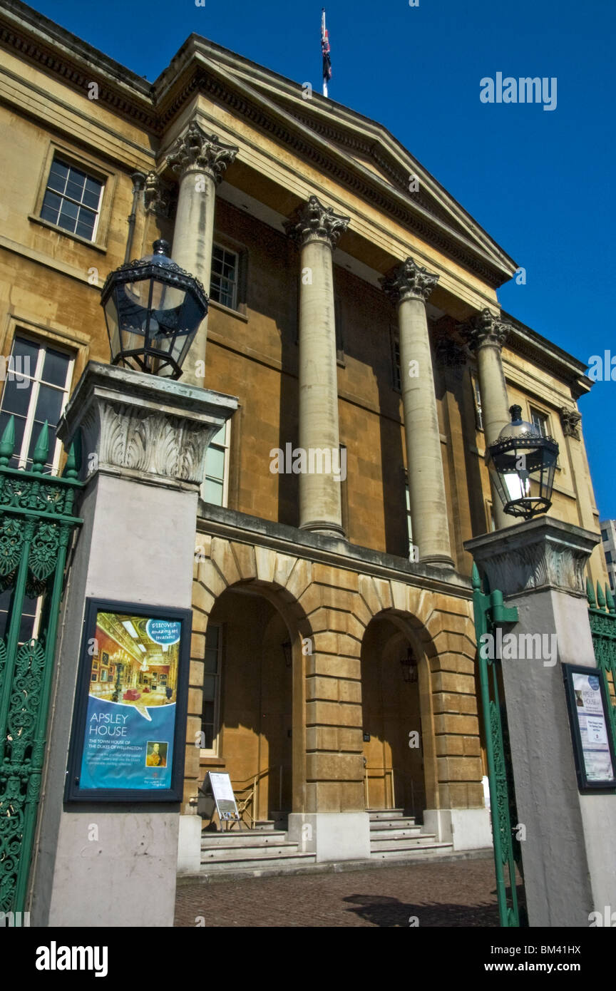 Apsley House, the Wellington Museum, No.1 Hyde Park. - Stock Image