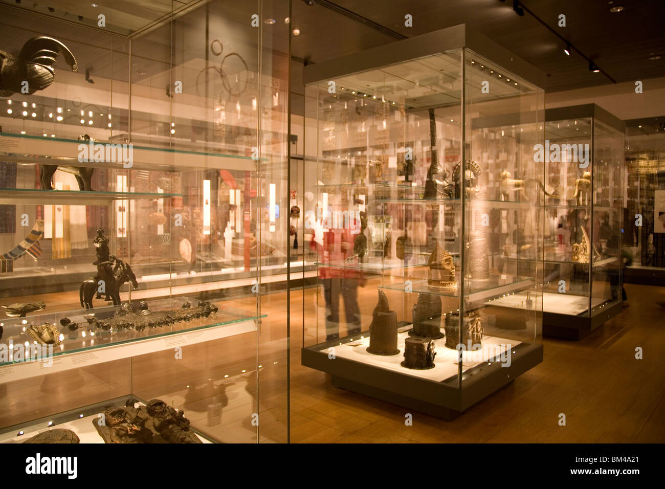 British Museum ethnography collections - Stock Image
