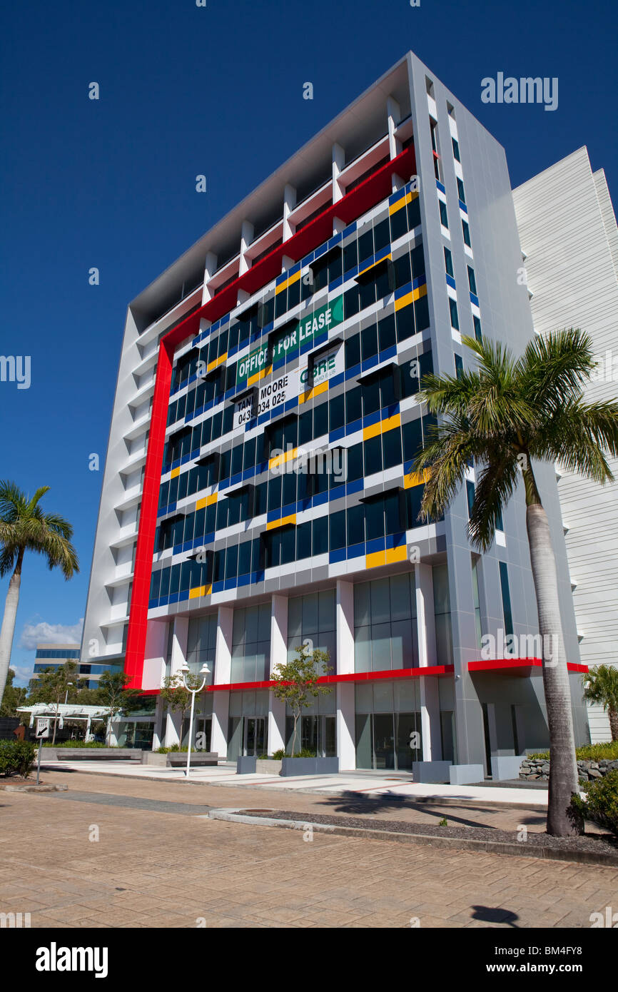 Offices for lease at Corporate Court, Bundall, Gold Coast; Queensland; Australia - Stock Image