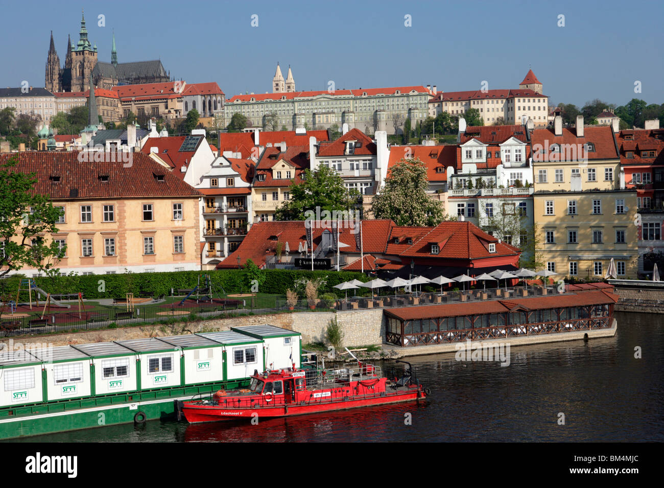 Magnificent Prague Stock Photo