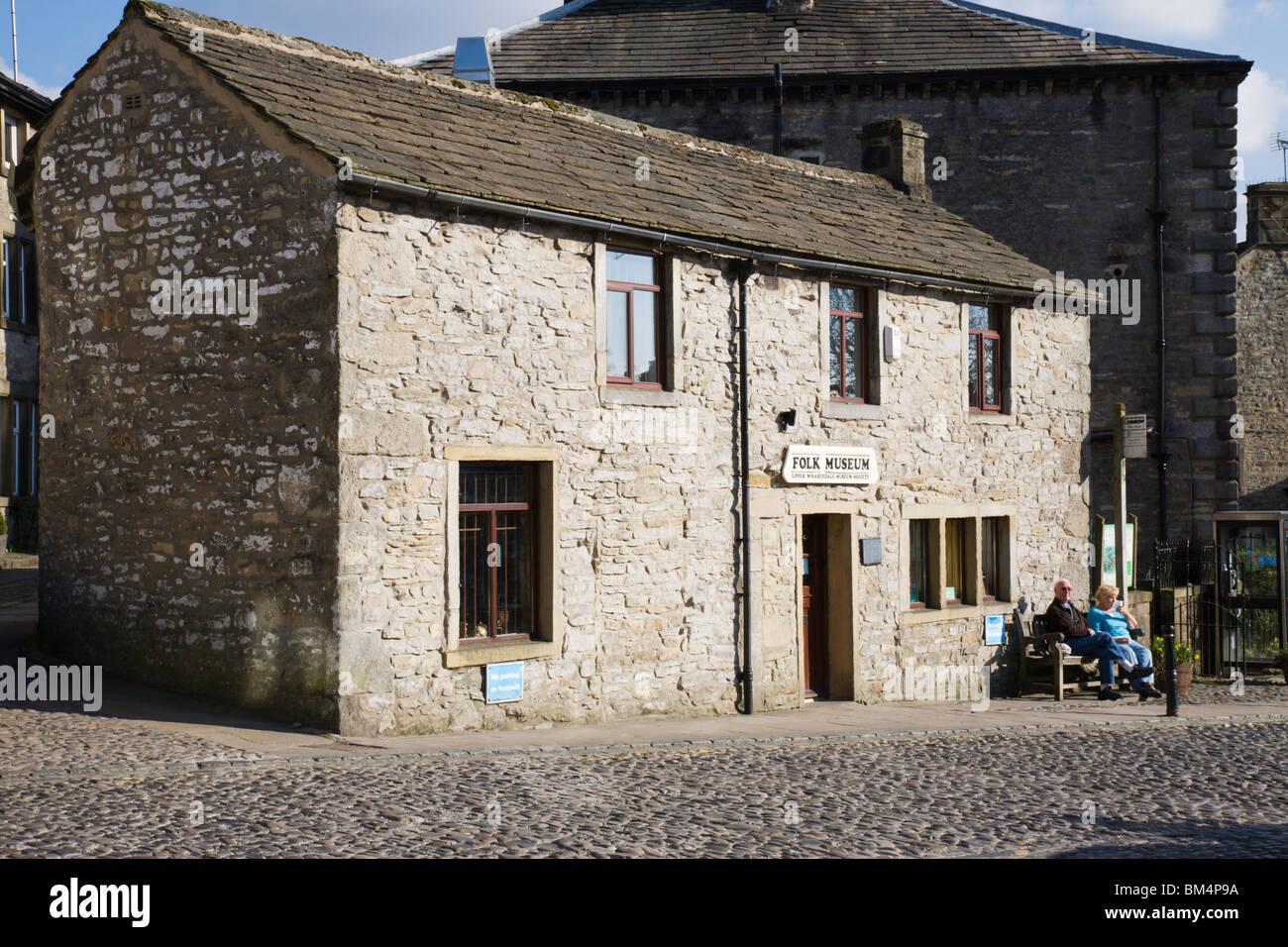 The Folk Museum in Grassington village, North Yorkshire, England. Stock Photo