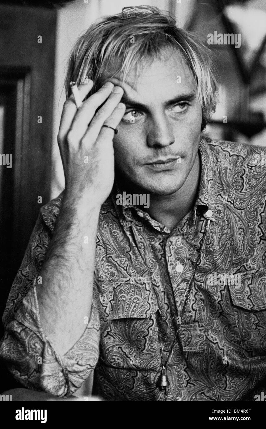 British actor Terence Stamp photographed in 1967 - Stock Image