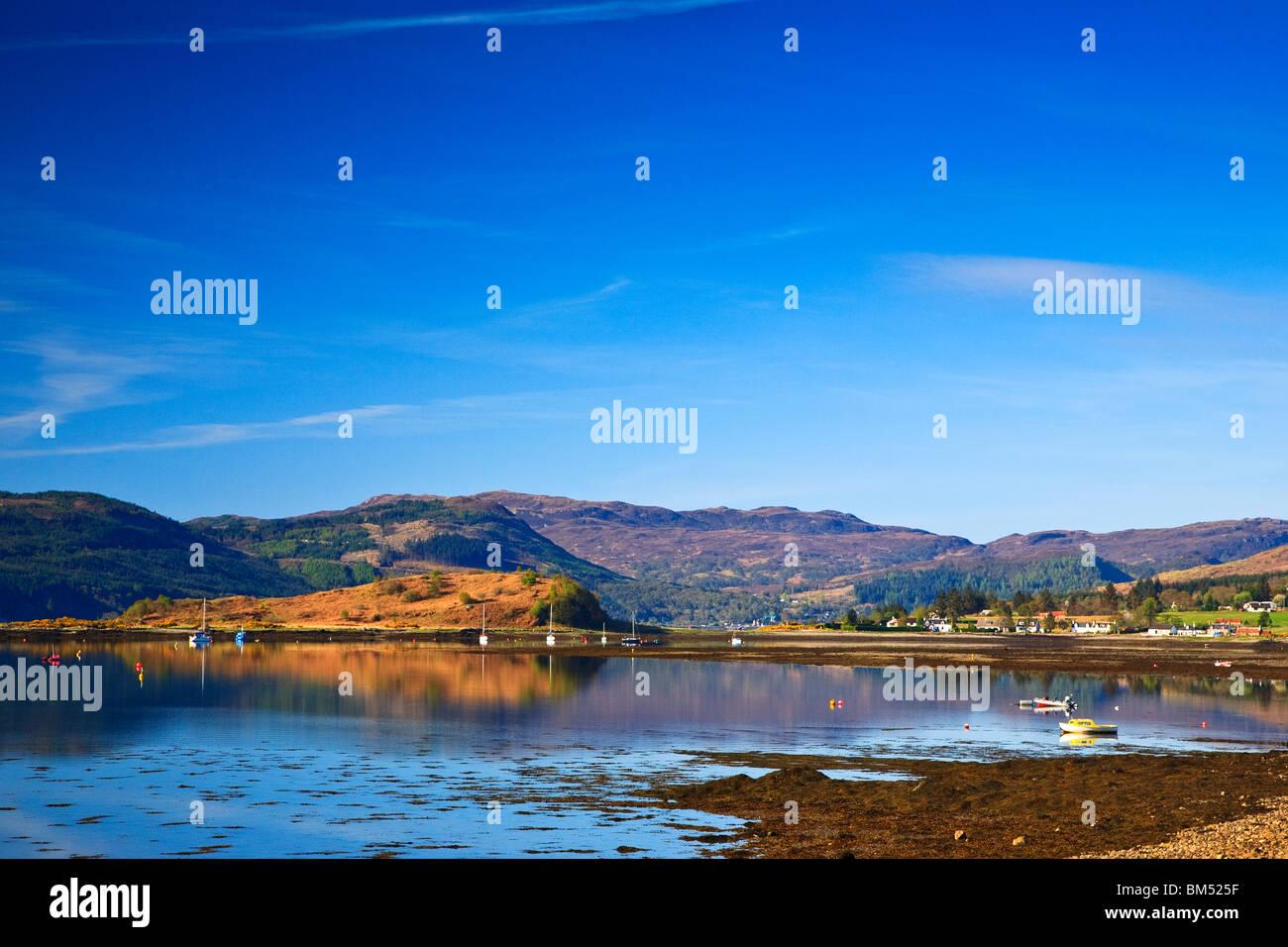 Loch carron, Wester Ross Scotland West coast Highlands Great Britain UK 2010 - Stock Image