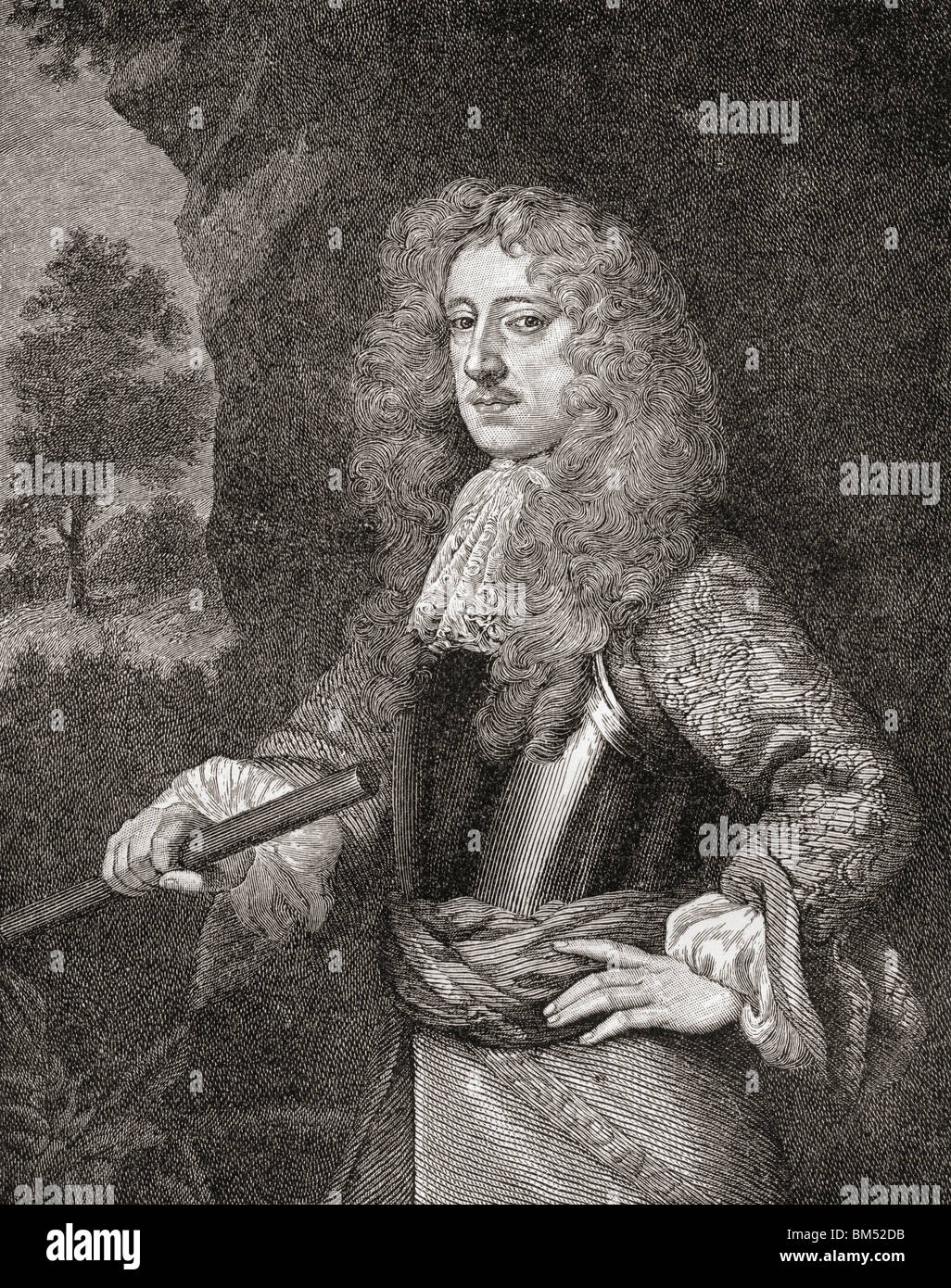 Anthony Ashley Cooper, 1st Earl of Shaftesbury, 1621 to 1683. English Whig politician. - Stock Image