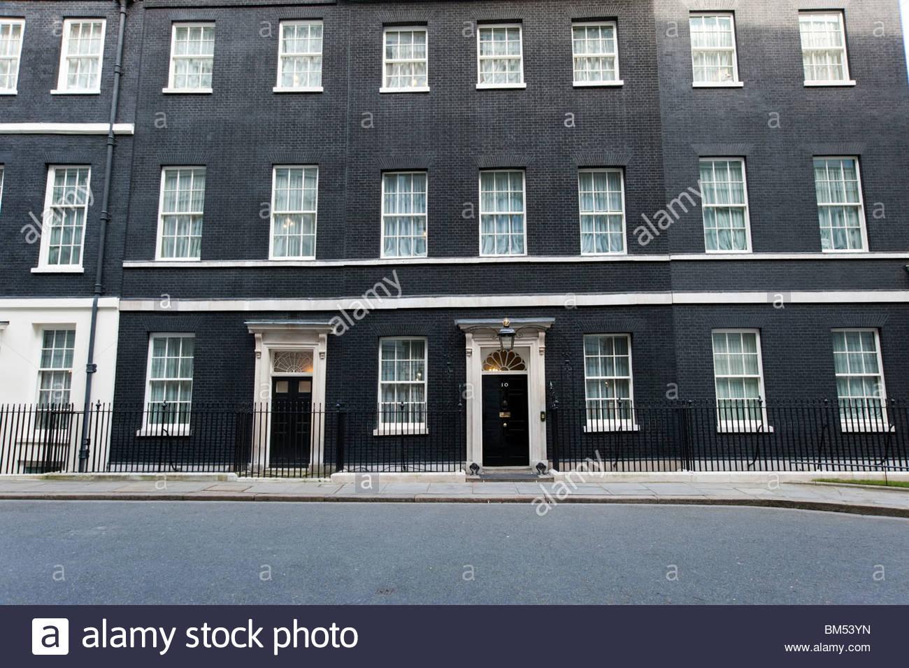 10 Downing Street, London, England, UK - Stock Image