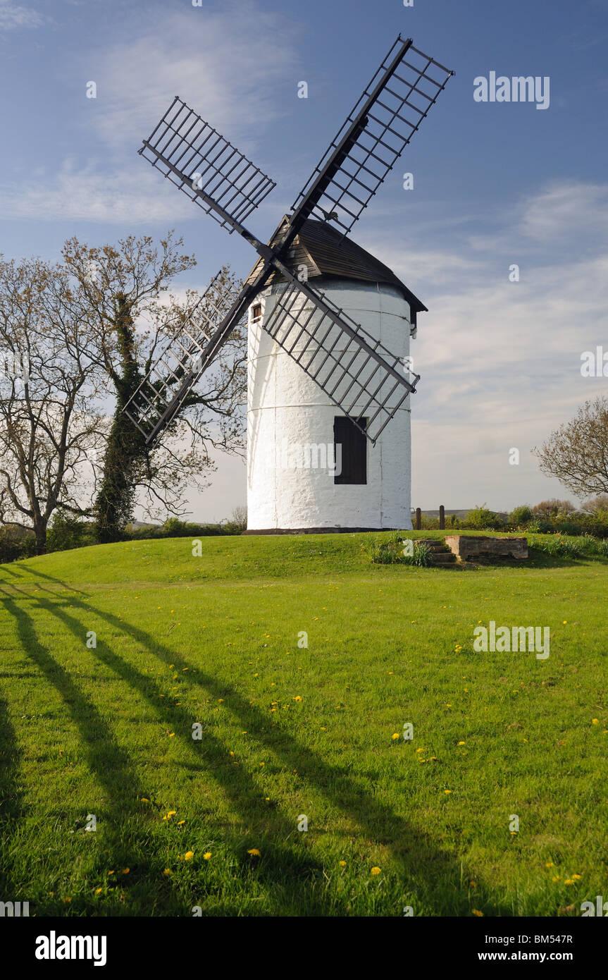 Ashton Mill, in Chapel Allerton, Somerset, England - Stock Image