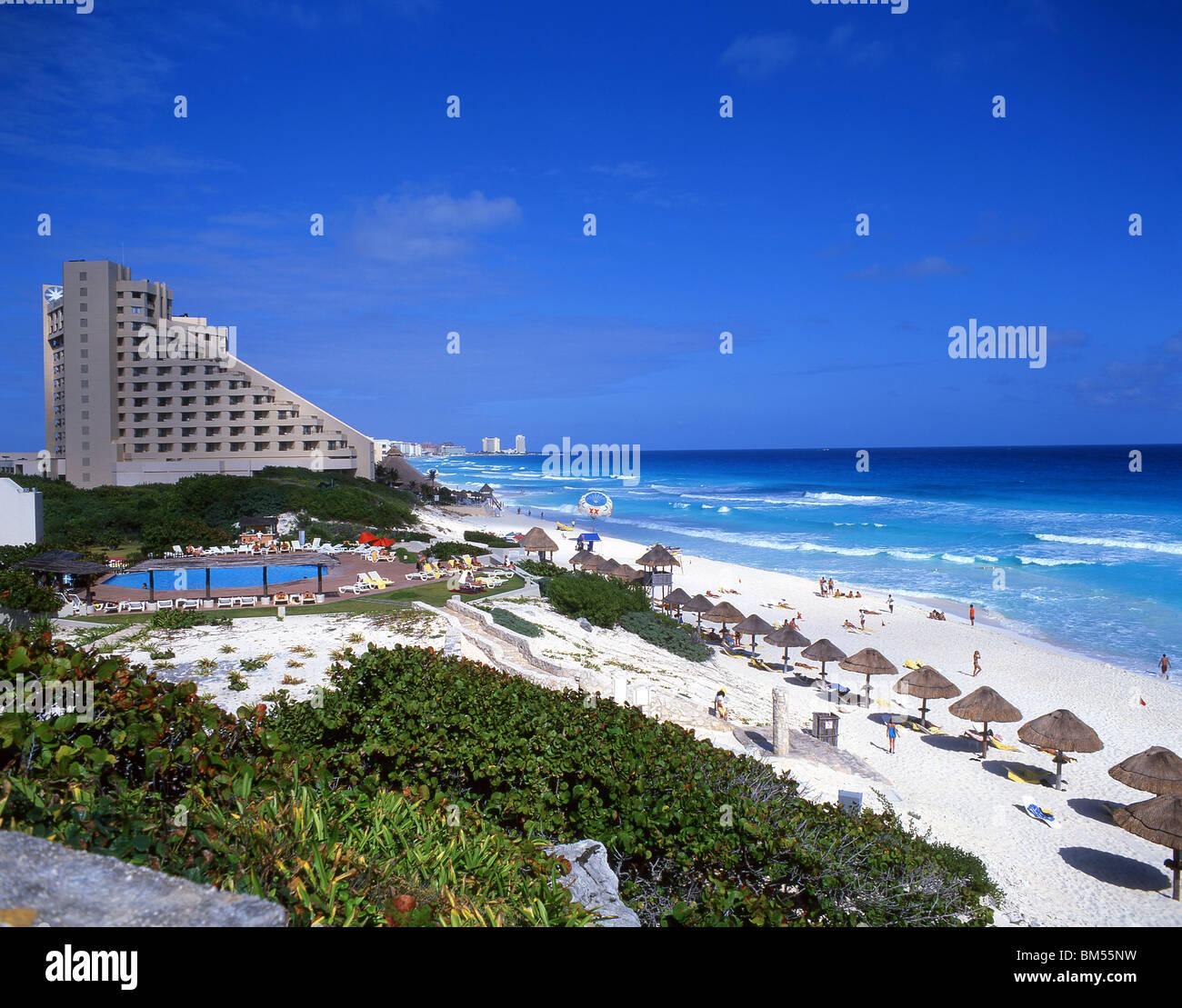 Beach View Hotel Zone Cancun Yucatan Peninsula Quintana Roo
