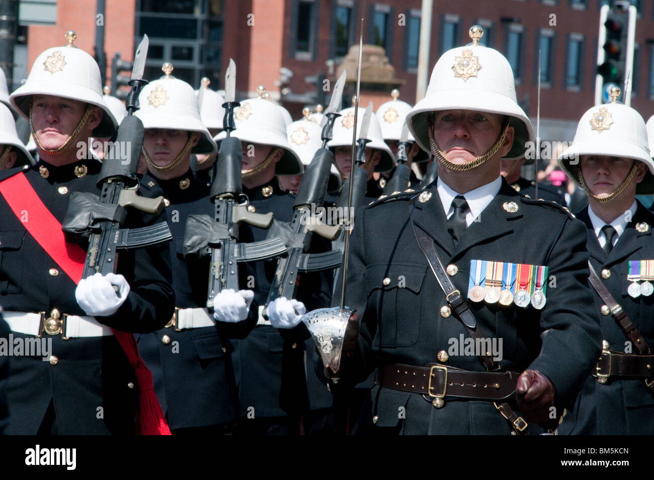 f46b1bdc36fa9 Royal Marine Commandos Stock Photos   Royal Marine Commandos Stock ...