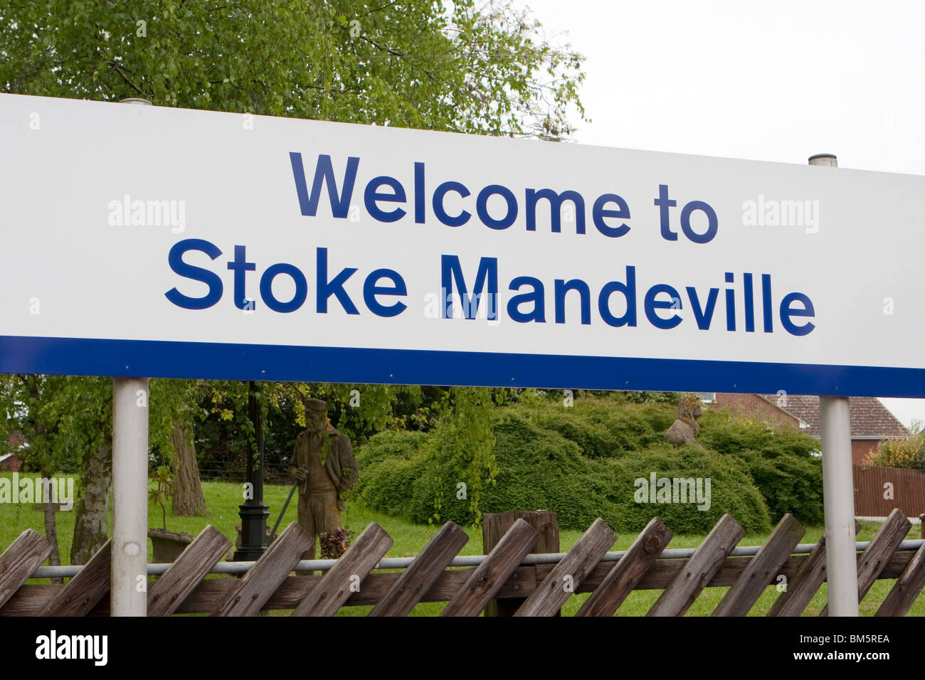Stoke Mandeville inspiration for name of 2012 Olympics Mascot UK - Stock Image