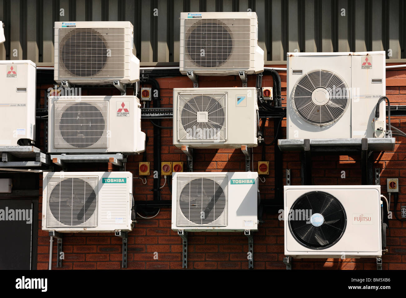 AIr conditioning units - Stock Image