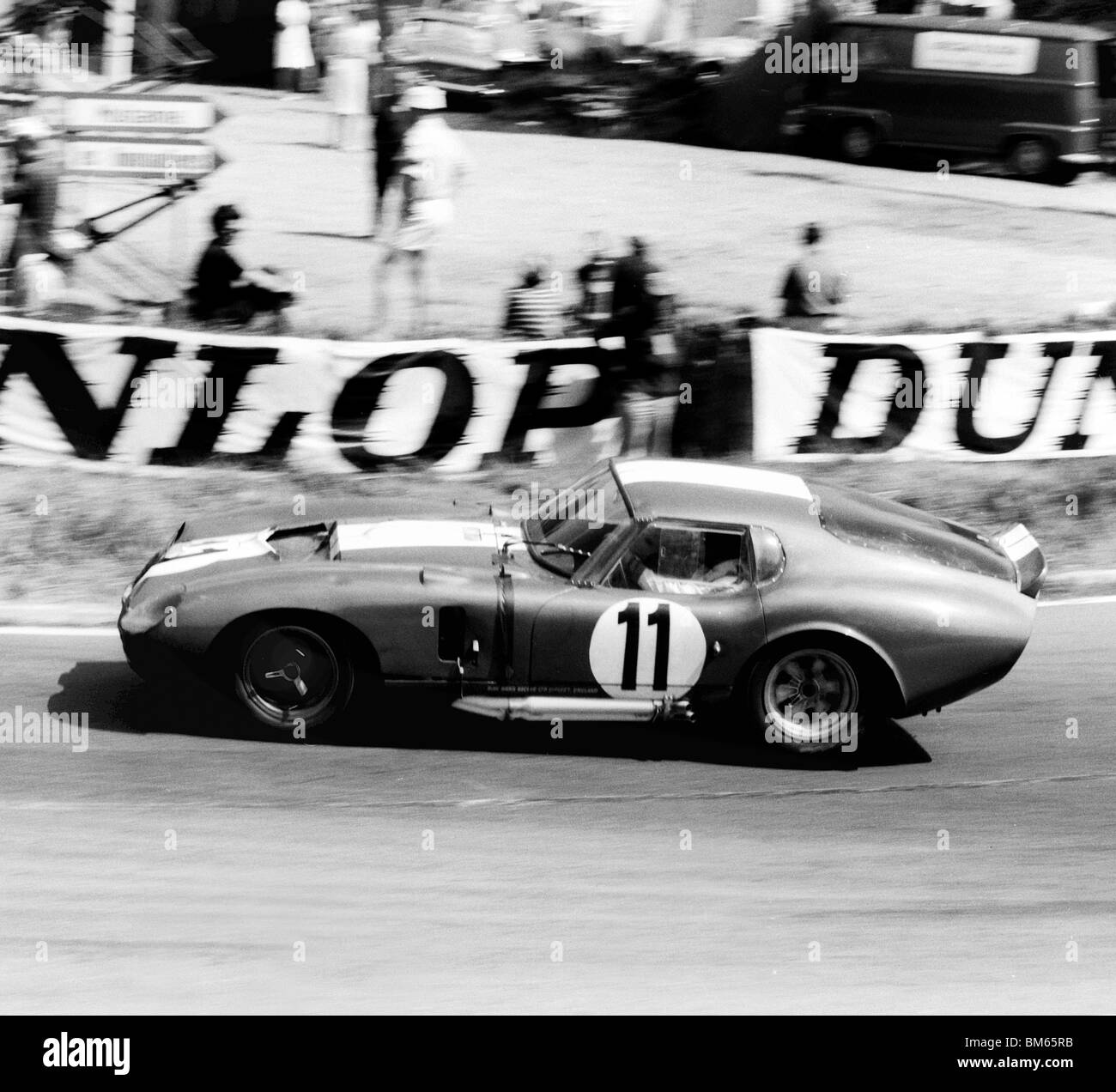 Sears and Thompson in the AC Ford Cobra Daytona ,1965 Le Mans - Stock Image