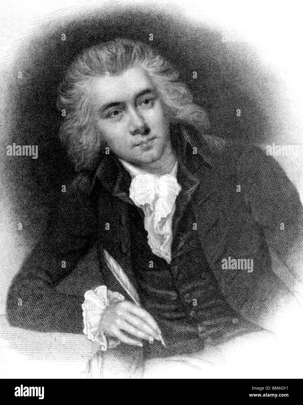 WILLIAM WILBERFORCE  English philanthropist and reformer (1759-1833) aged 29 - Stock Image