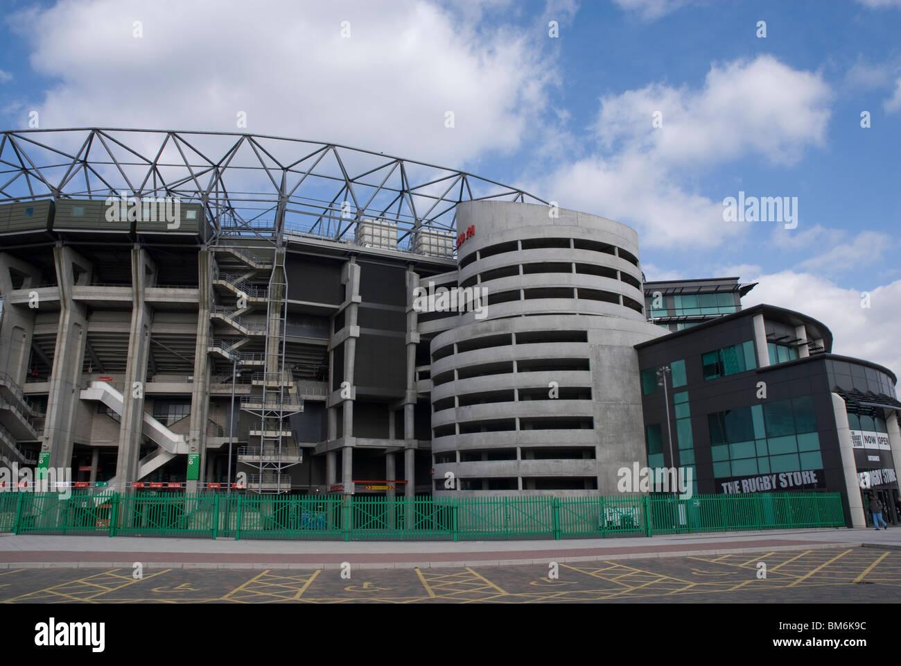 Twickenham Rugby Grounds Twickenham London - Stock Image