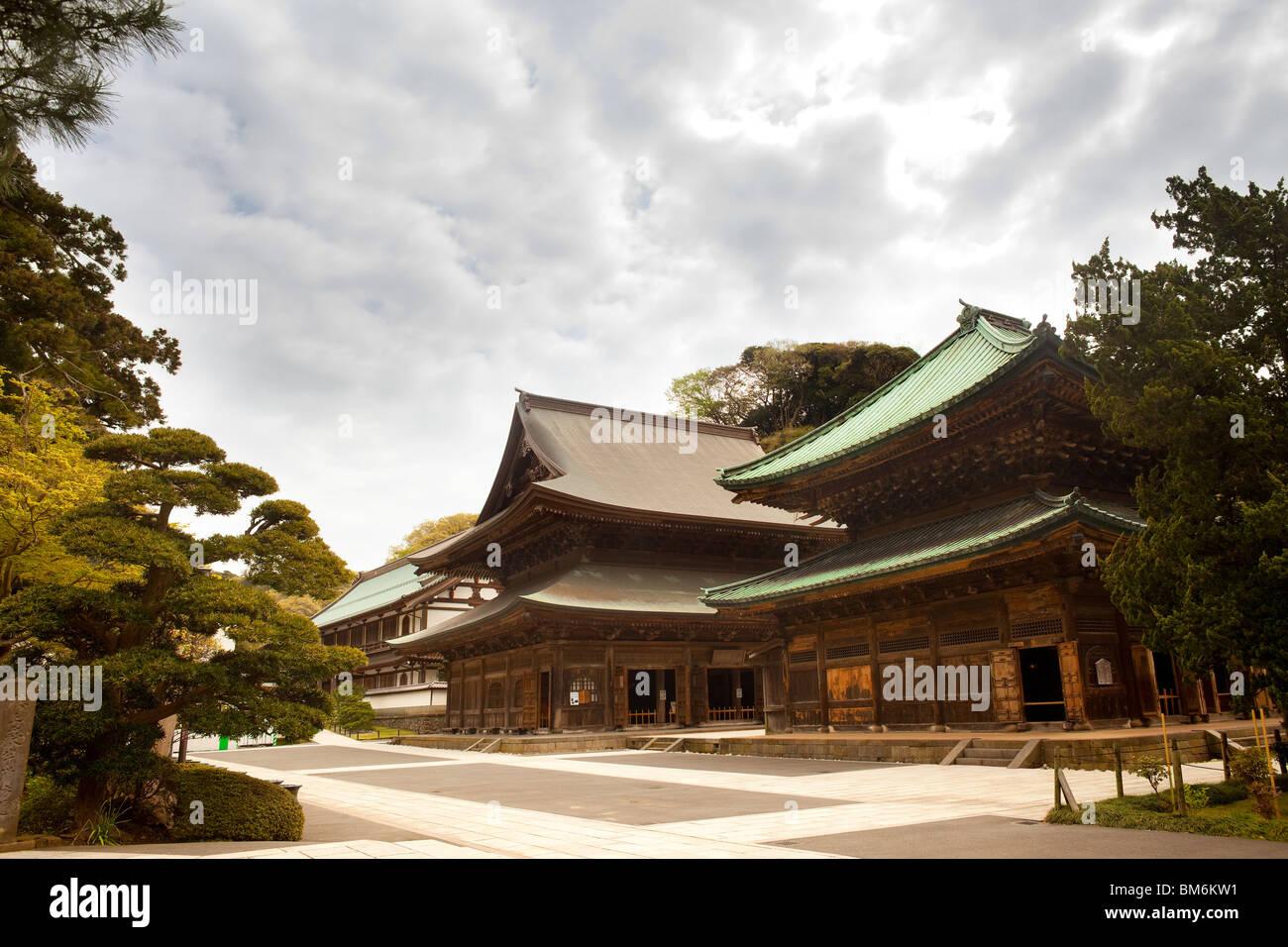 Kenchoji temple, Kamakura, Kanagawa Prefecture, Greater Tokyo Area, Japan - Stock Image