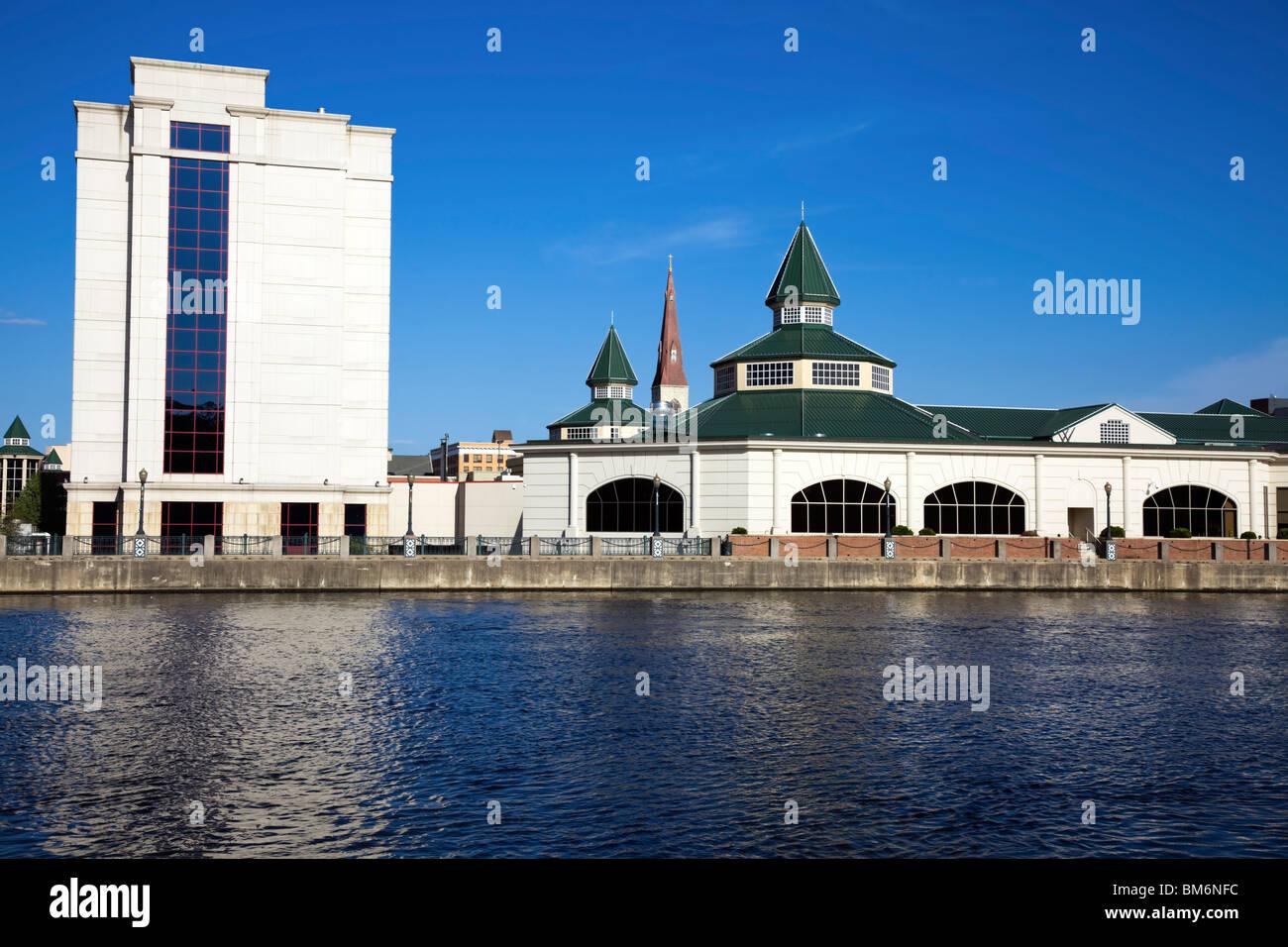 Downtown of Joliet, Illinois Stock Photo
