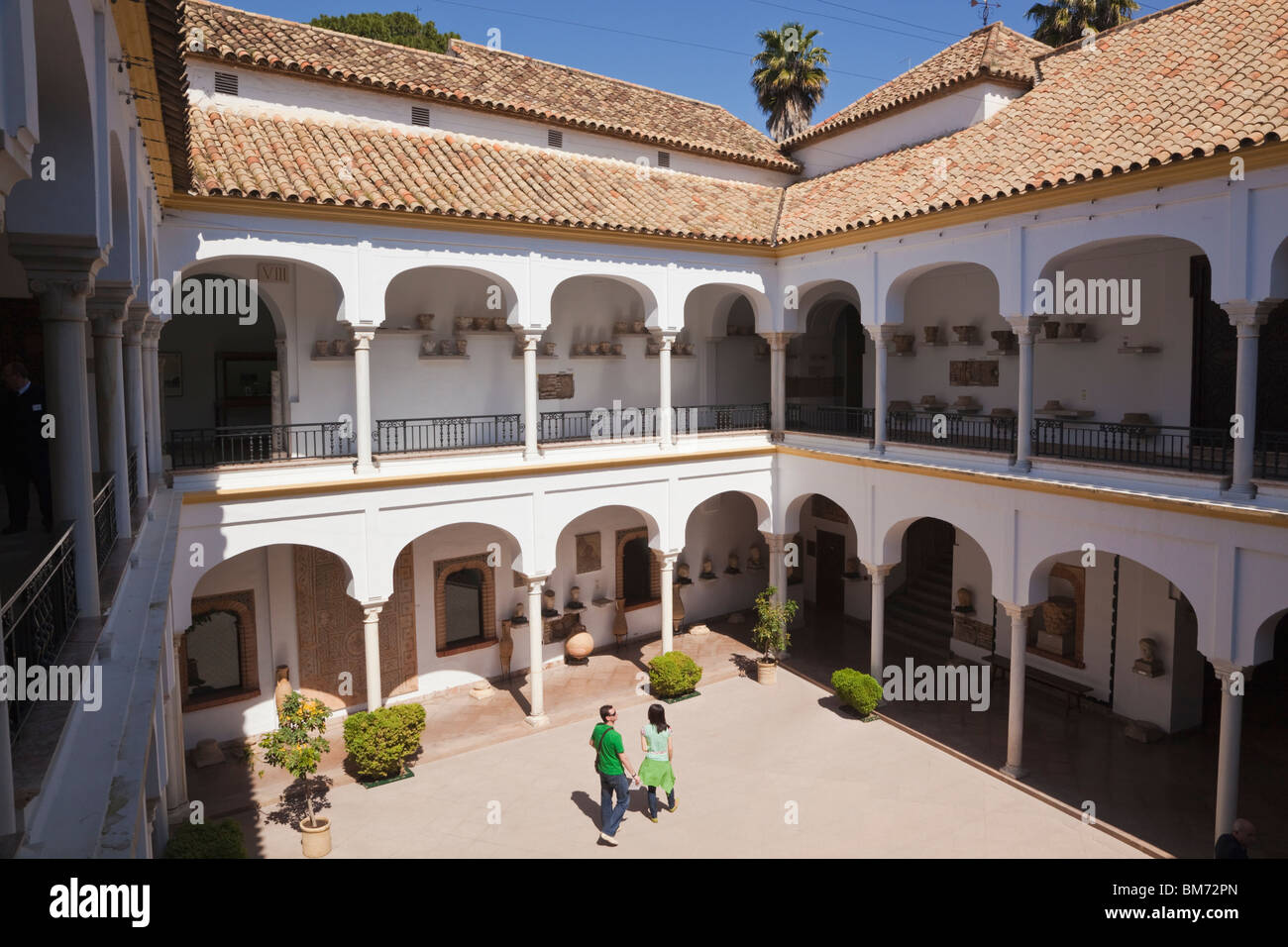 Cordoba, Cordoba Province, Spain.  Archeological and Ethnological Museum. - Stock Image