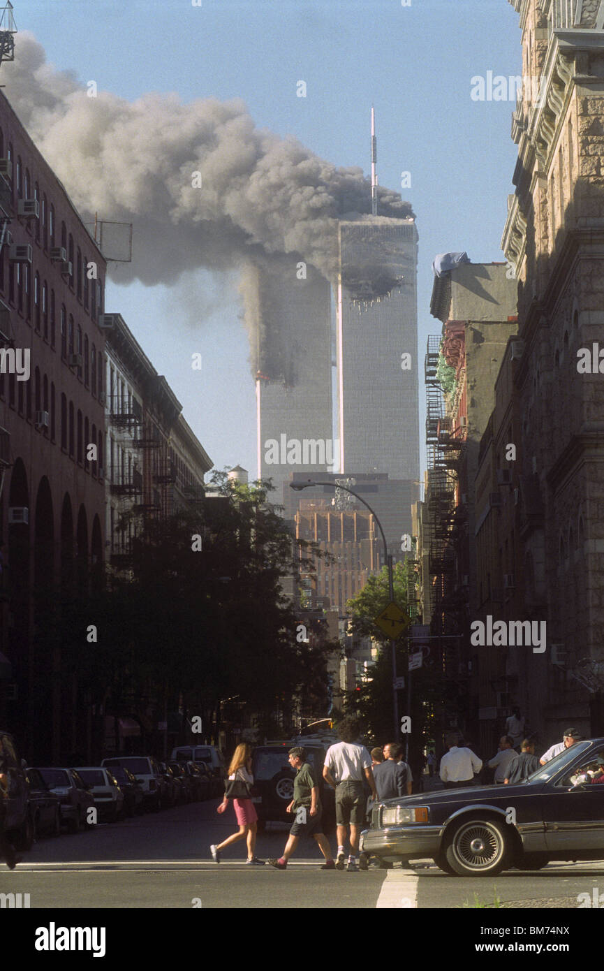 The World Trade Center Attack ©Stacy Walsh Rosenstock/Alamy - Stock Image