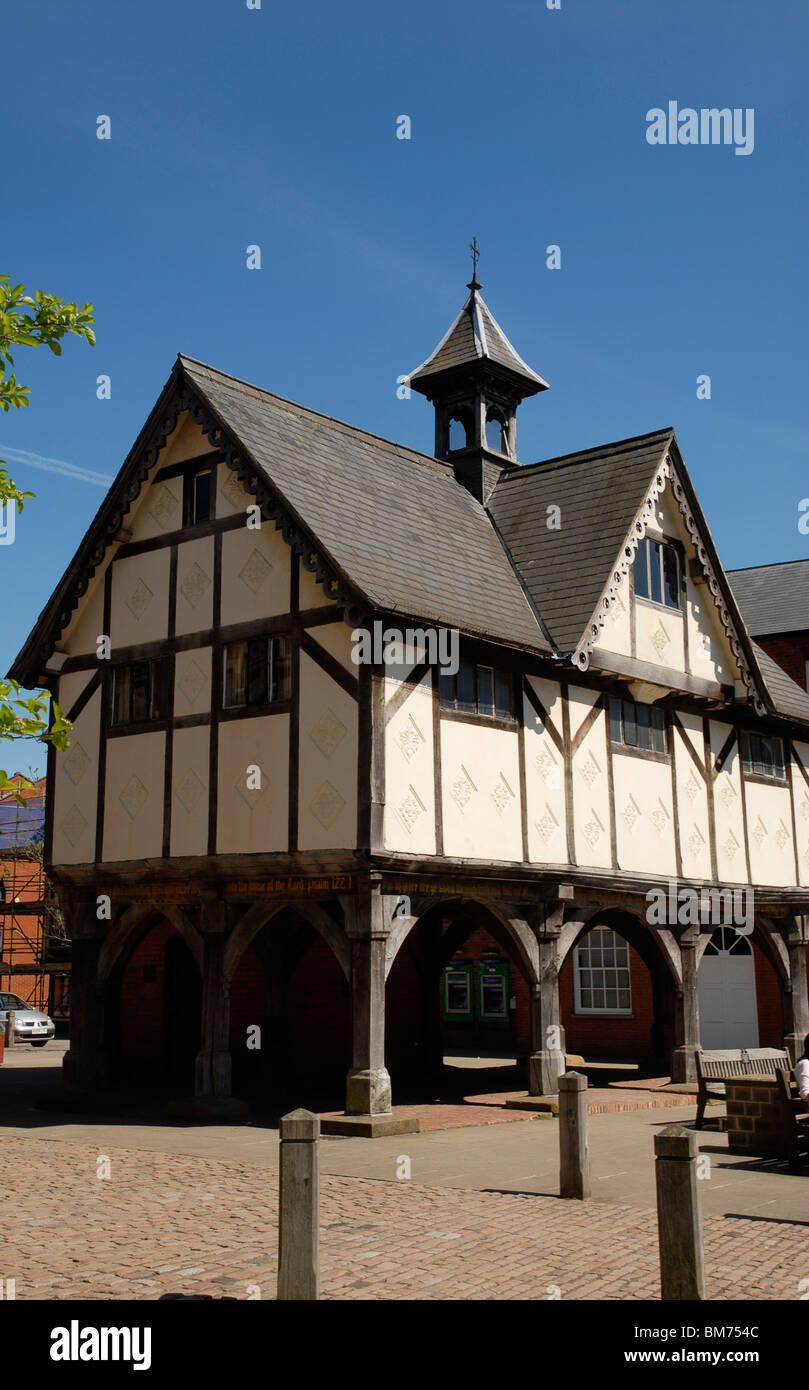 The old Grammar School at Market Harborough, Leics., UK, 2010. - Stock Image