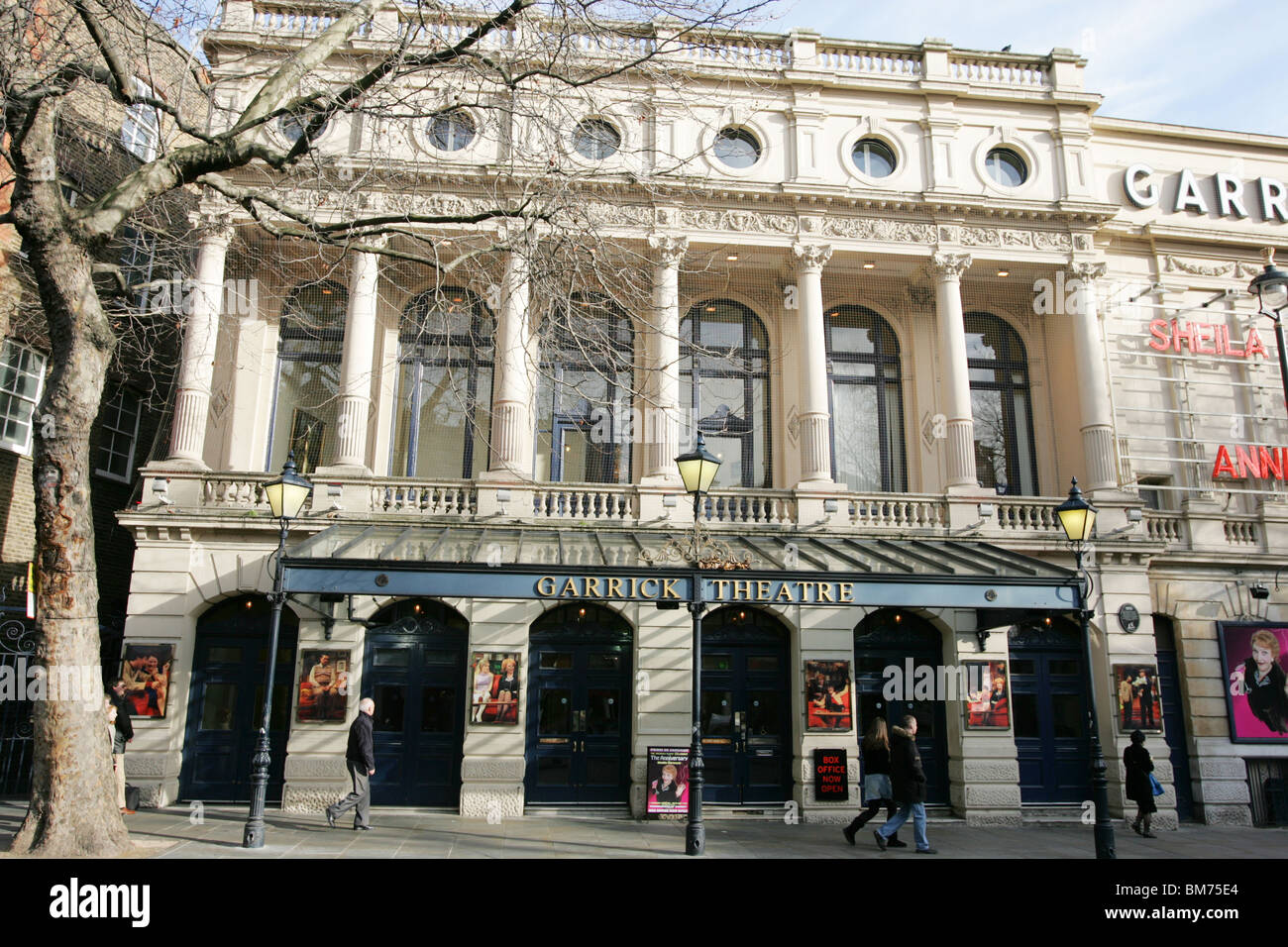 The Garrick Theatre, London - Stock Image