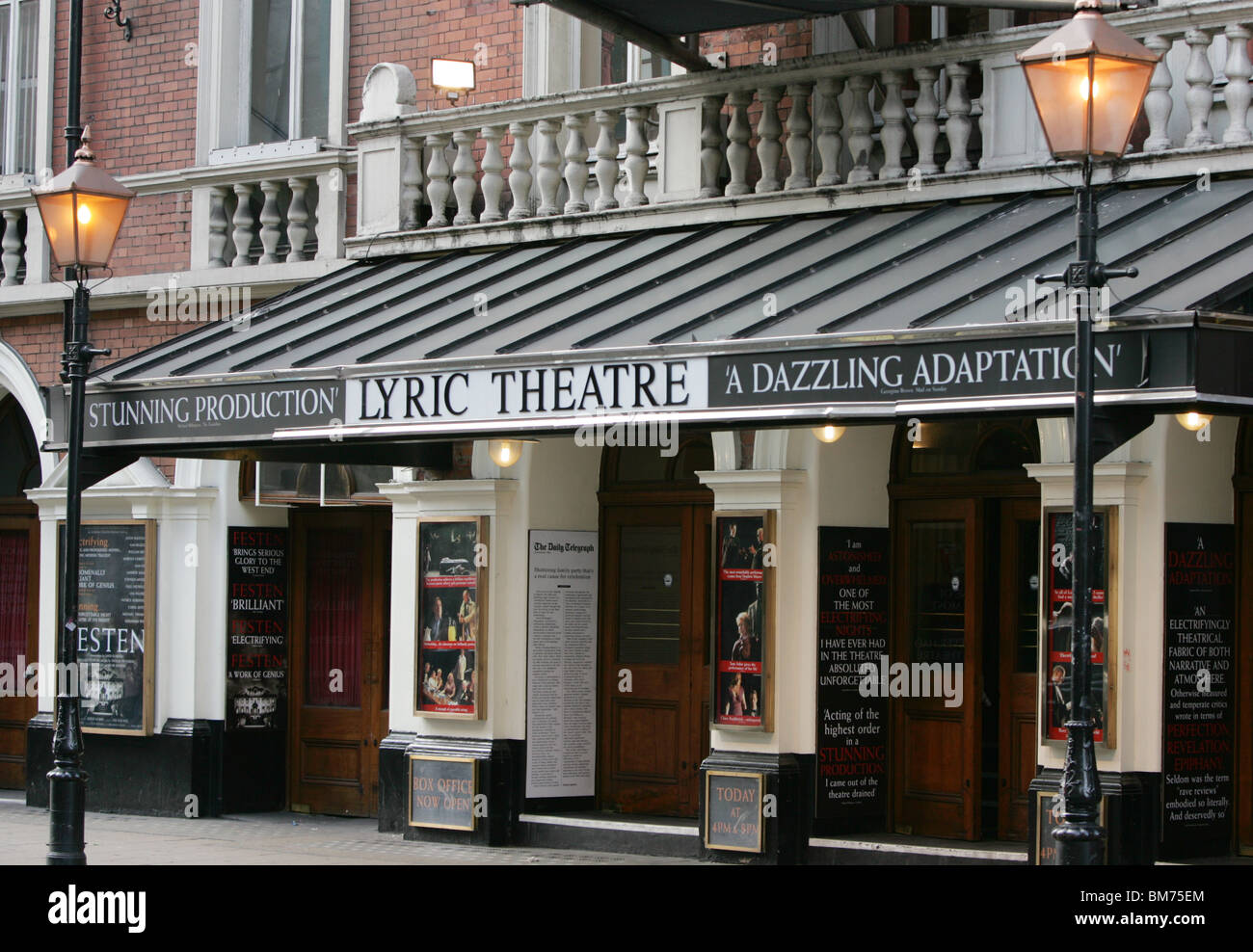 The Lyric Theatre, London - Stock Image