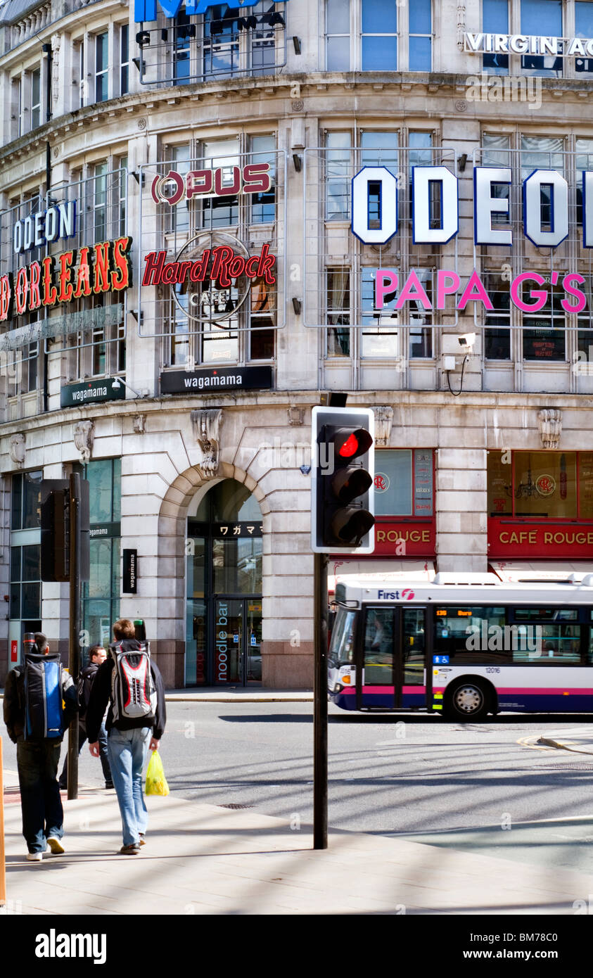 The Printworks in Manchester city centre, England, UK - Stock Image