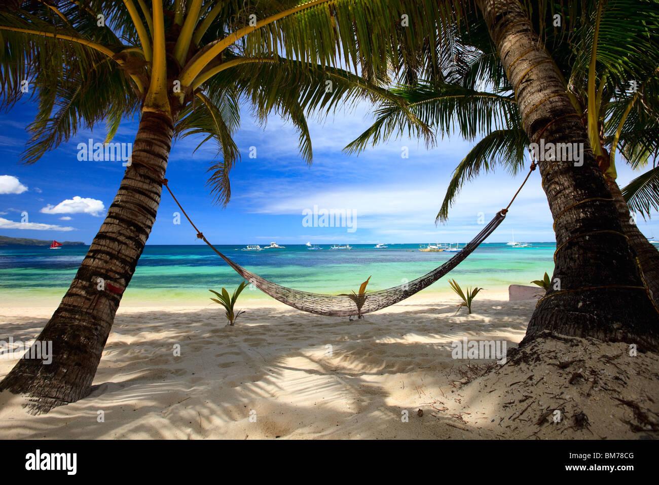 Perfect beach - Stock Image