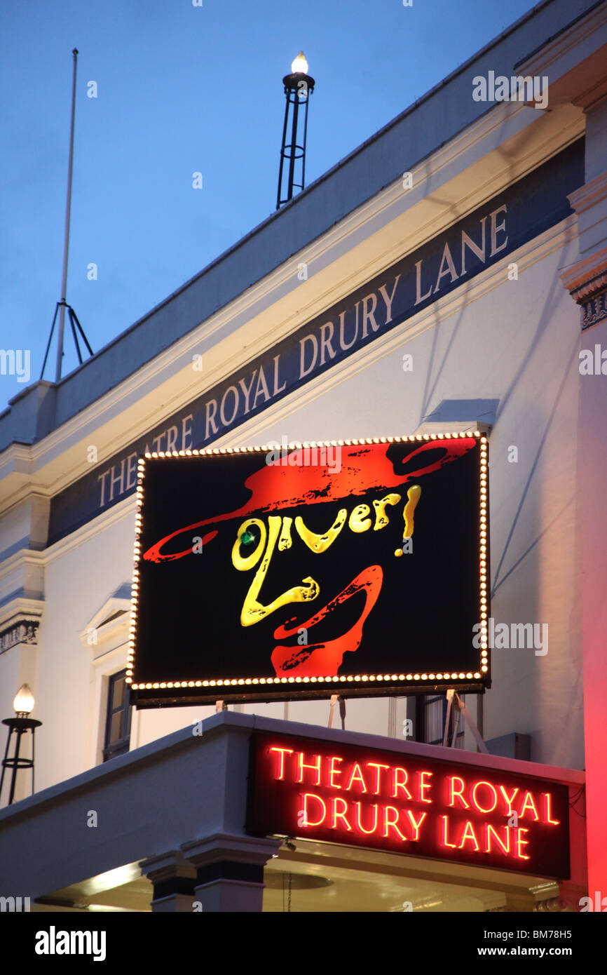 Oliver!, Theatre Royal Drury Lane, London, 2009 - Stock Image