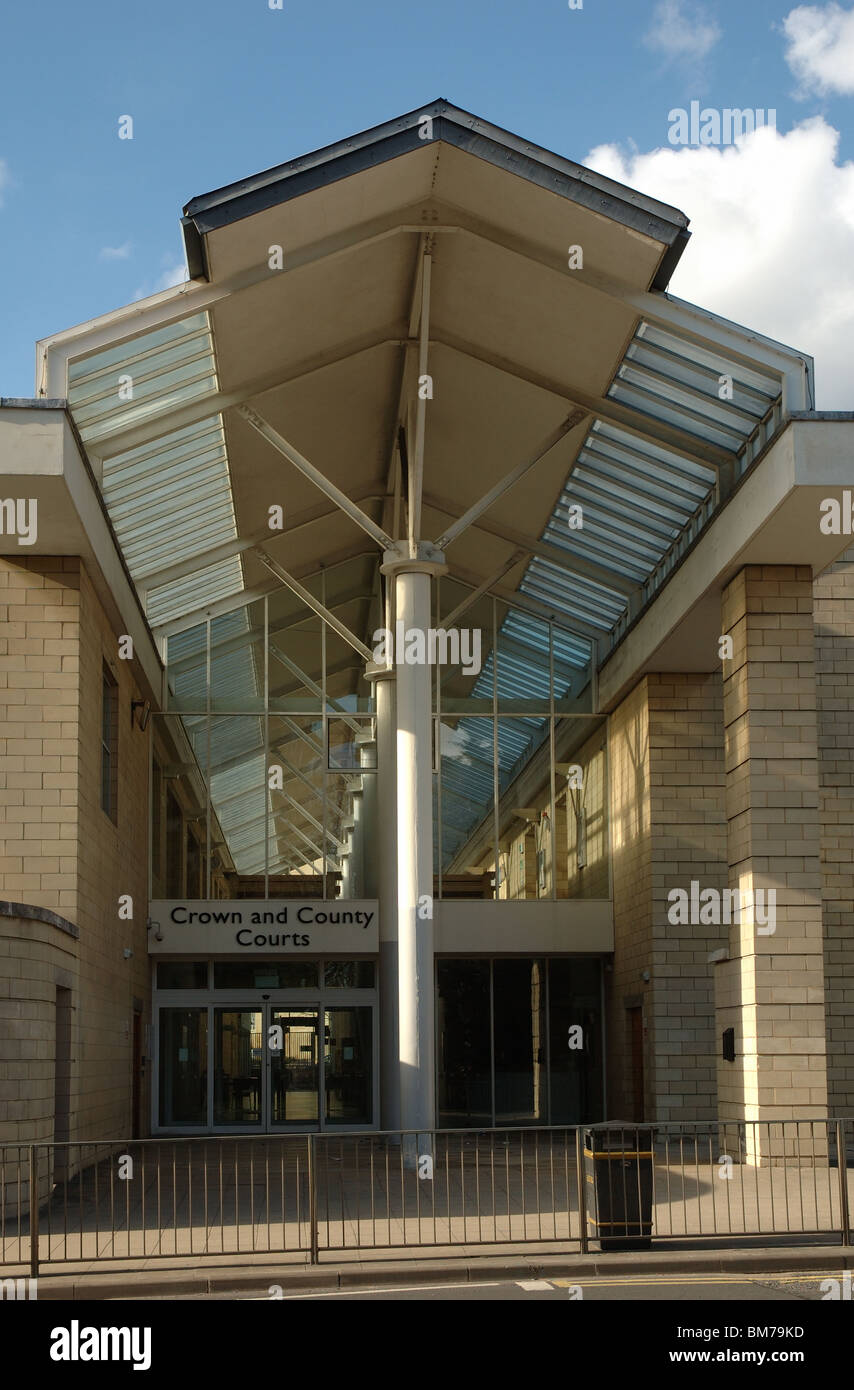 Northampton Crown and County Courts, Northampton, Northamptonshire, England, UK - Stock Image