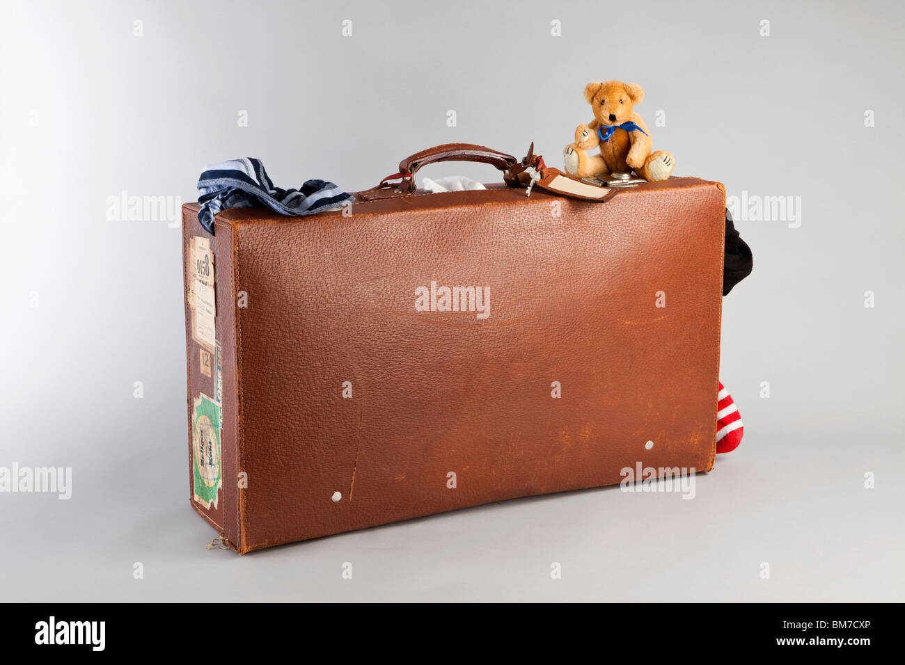 Old Suitcase Grey Stock Photos   Old Suitcase Grey Stock Images - Alamy f3ff55a8bdc7a
