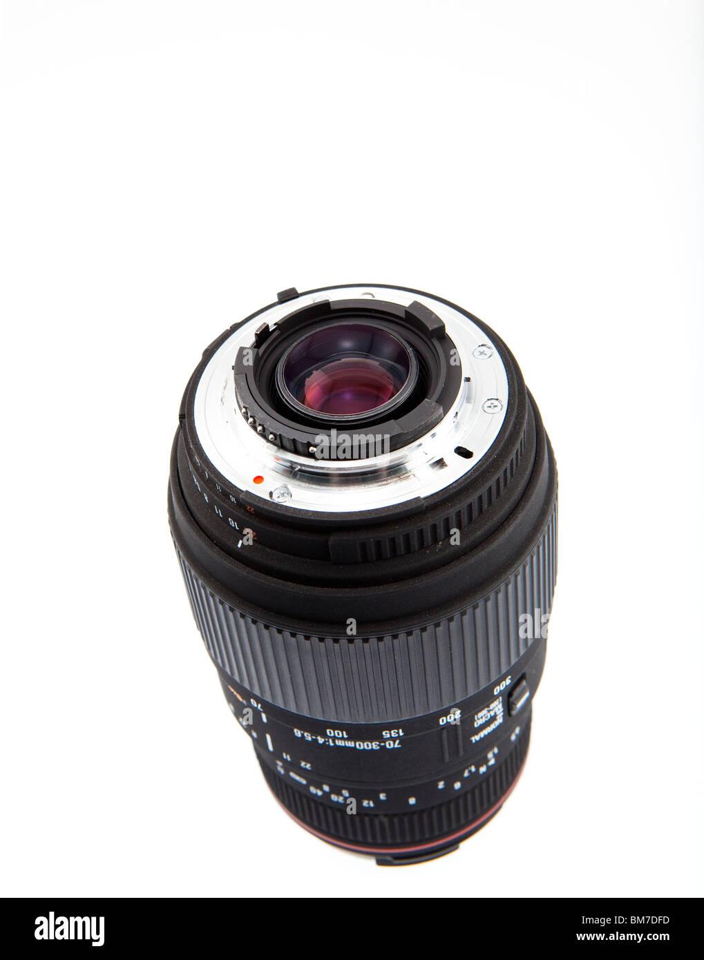 Sigma NIkon mount budget zoom lens - Stock Image