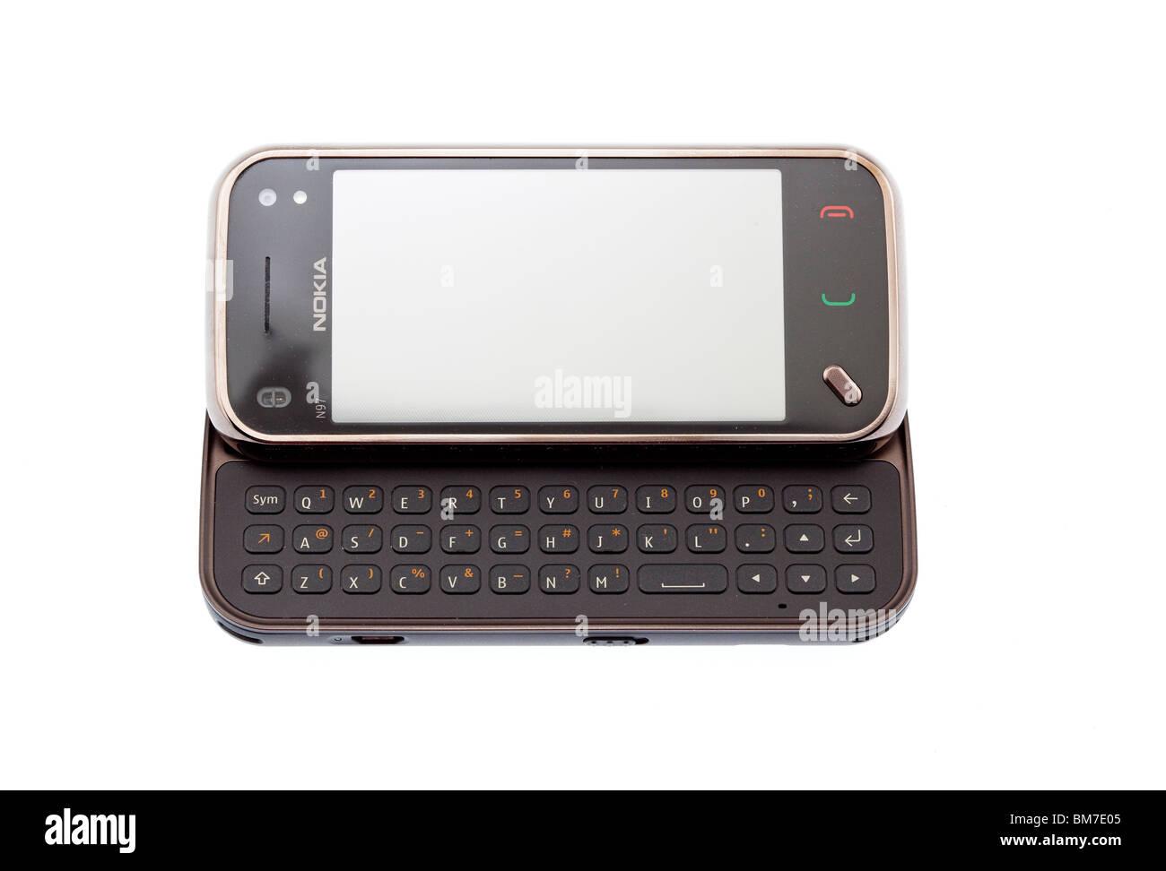 Nokia N97 Mini smartphone - Stock Image