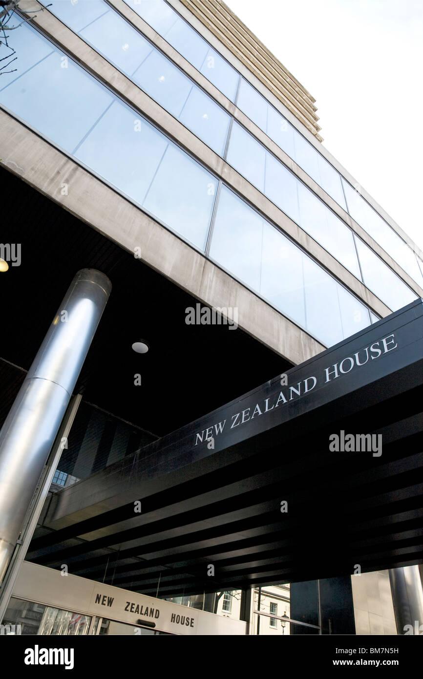 New Zealand House, Haymarket, London Stock Photo